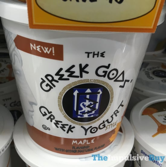 The Greek Gods Maple Greek Yogurt