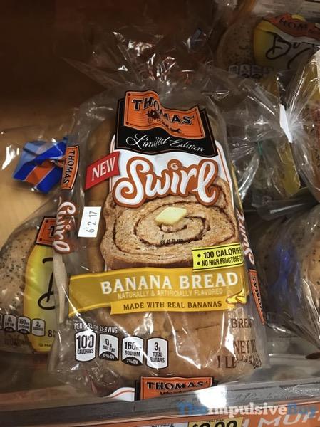 Thomas Swirl Banana Bread Swirl Bread