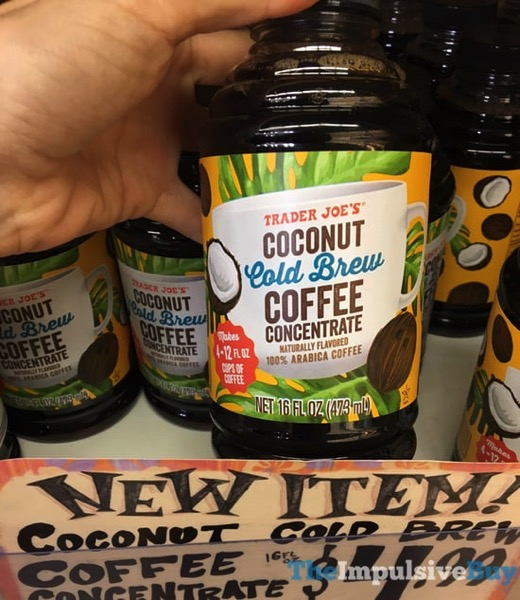 Trader Joe s Coconut Cold Brew Coffee Concentrate