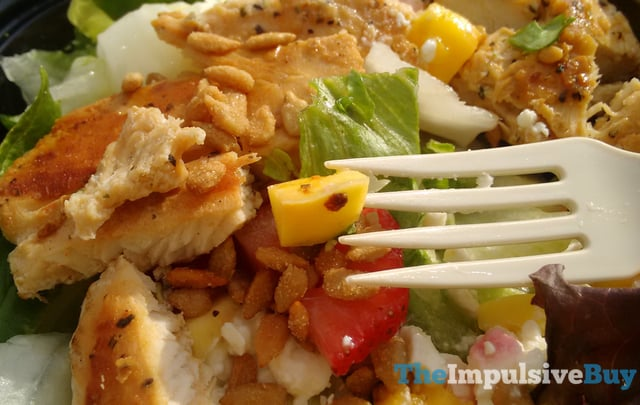 Wendy s Strawberry Mango Chicken Salad 5