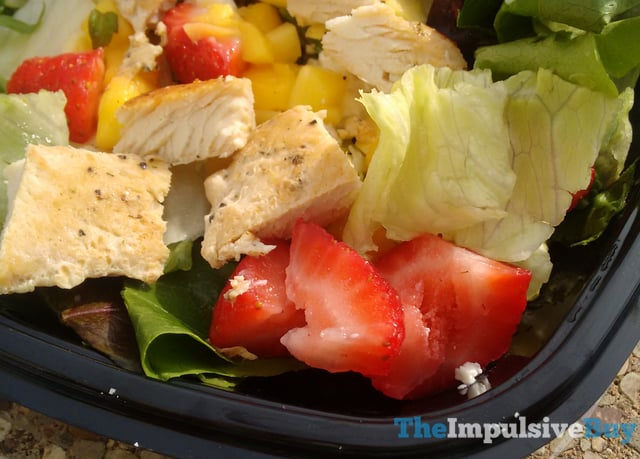 Wendy s Strawberry Mango Chicken Salad 3