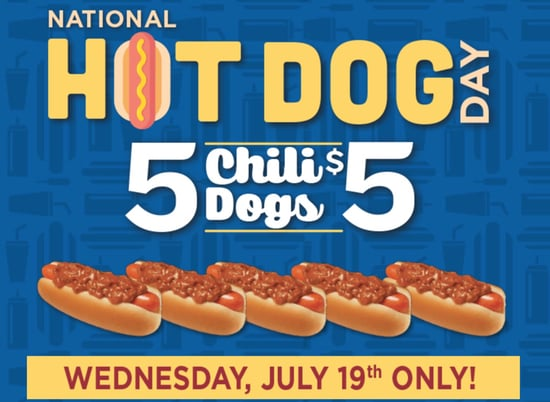 2017 Wienerschnitzel National Hot Dog Day