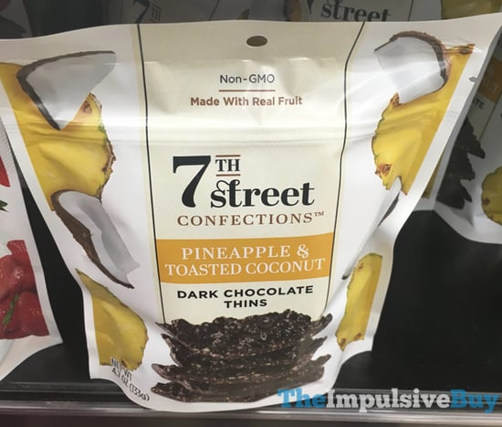 7Th Street Confections Pineapple  Toasted Coconut Dark Chocolate Thins