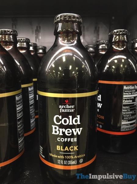 Archer Farms Black Cold Brew Coffeea