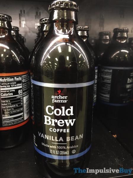 Archer Farms Vanilla Bean Cold Brew Coffee