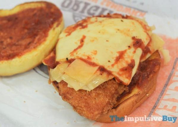 Burger King Chicken Parmesan Sandwich  2017 2