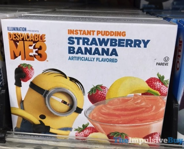 Despicable Me 3 Strawberry Banana Instant Pudding