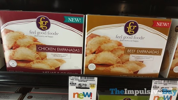 Feel Good Foods Chicken and Beef Empanadas