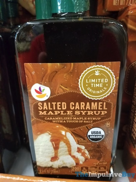 Giant Limited Time Originals Salted Caramel Maple Syrup