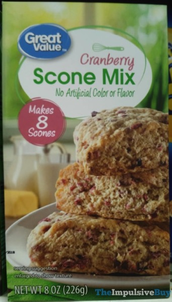 Great Value Cranberry Scone Mix
