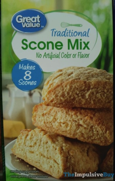 Great Value Traditional Scone Mix
