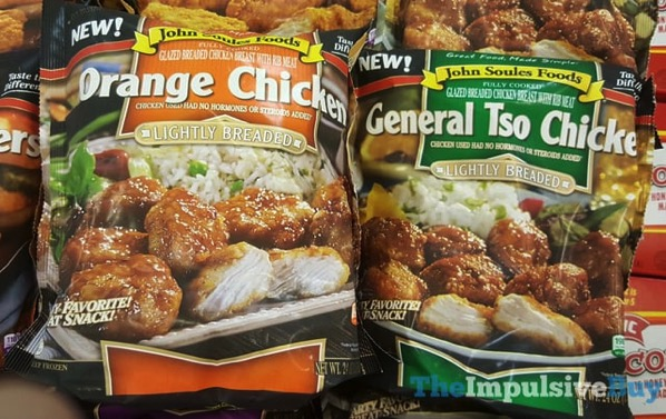 John Soules Foods Orange Chicken and General Tso Chicken