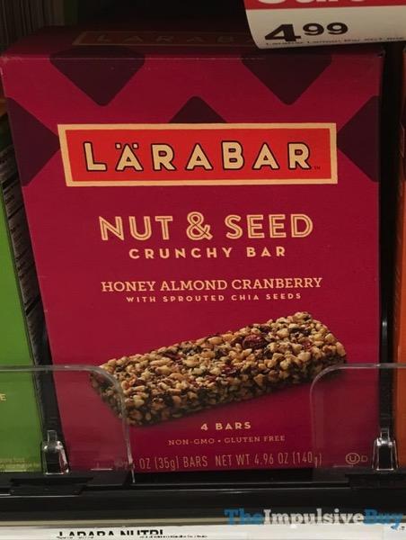 Larabar Honey Almond Cranberry Nut  Seed Crunchy Bar