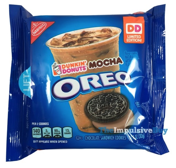 Limited Edition Dunkin Donuts Mocha Oreo Cookies