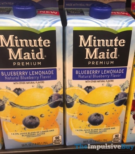 Minute Madie Blueberry Lemonade