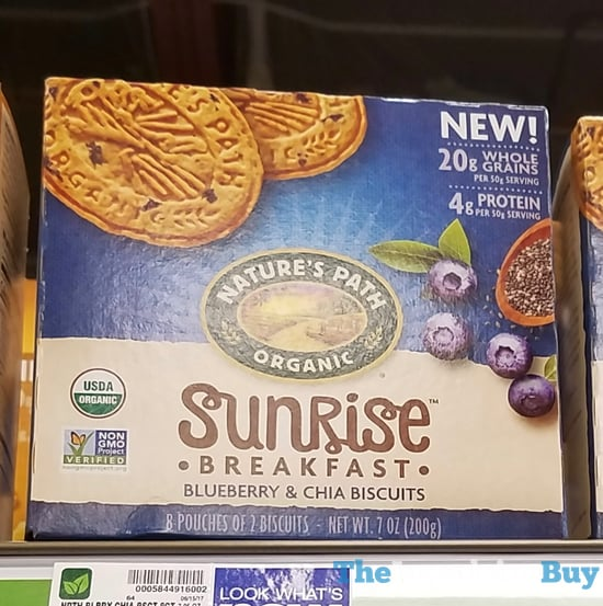Nature s Path Sunrise Breakfast Blueberry  Chia Biscuits