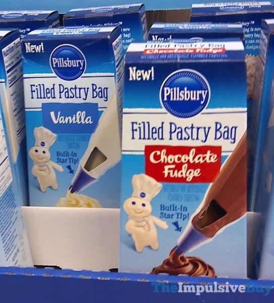 Pillsbury Filled Pastry Bag  Vanilla nd Chocolate Fudge