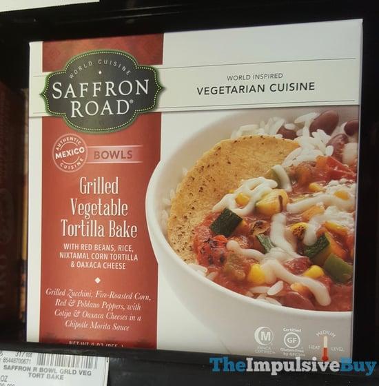 Saffron Road Grilled Vegetable Tortilla Bake Bowl