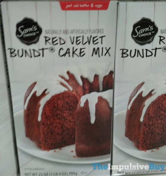Sam s Choice Red Velvet Bundt Cake Mix