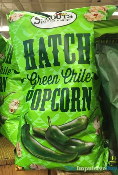 Sprouts Hatch Green Chile Popcorn