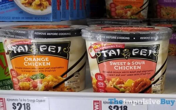 Tai Pei Orange Chicken and Sweet  Sour Chicken