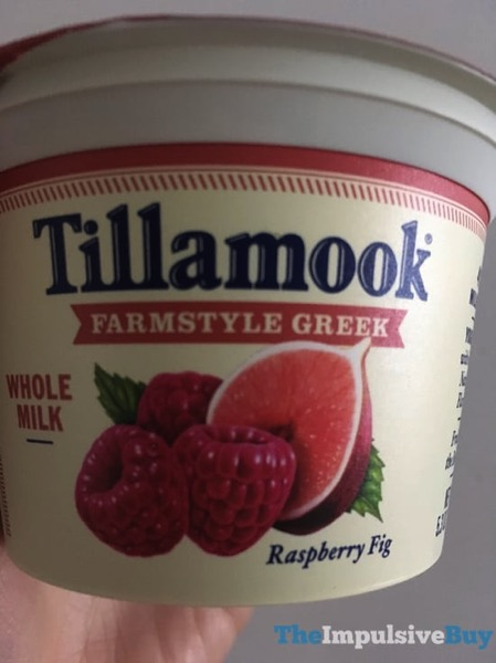 Tillamook Farmstyle Greek Whole Milk Raspberry Fig Yogurt