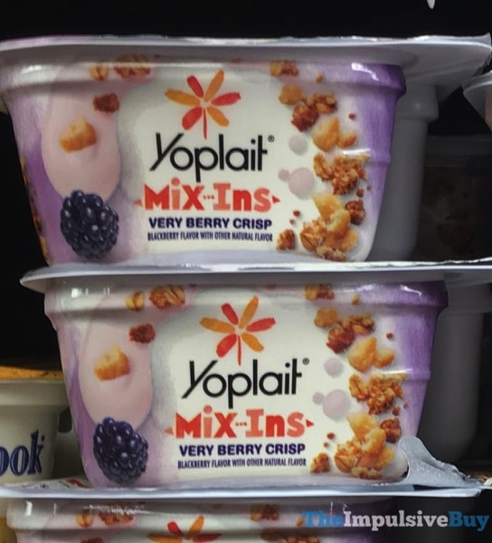 Yoplait Mix Ins Very Berry Crisp