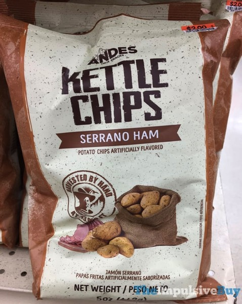 Andes Serrano Ham Kettle Chips