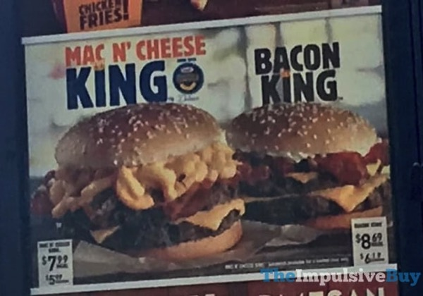 Burger King Mac N Cheese King