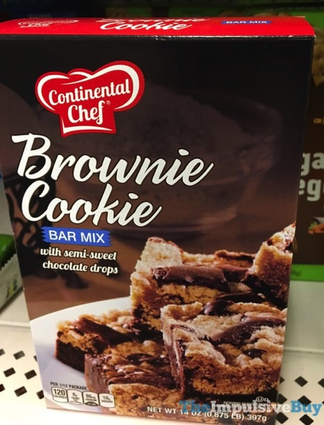 Continental Chef Brownie Cookie Bar Mix