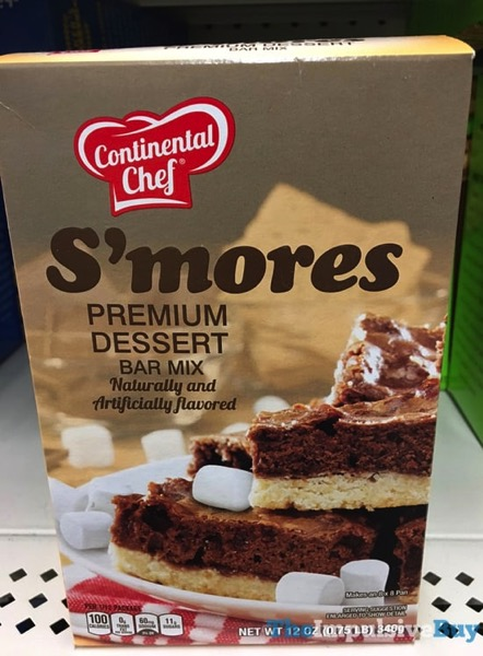 Continental Chef S mores Premium Dessert Bar Mix
