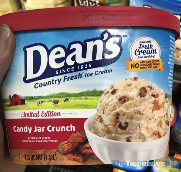 Dean s Limited Edition Candy Jar Crunch Ice Cream