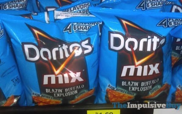 Doritos Mix Blazin Buffalo Explosion