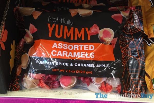 Frightfully Yummy Pumpkin Spice  Caramel Apple Assorted Caramels