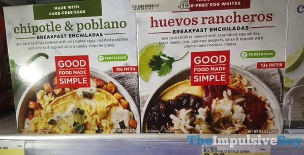 Good Food Made Simple Breakfast Enchiladas  Chipotle  Poblano and Huevos Rancheros