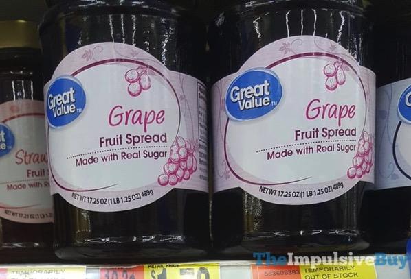 Grape Value Grape Fruit Spread