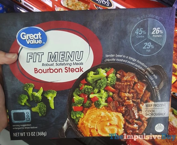 Great Value Fit Menu Bourbon Steak
