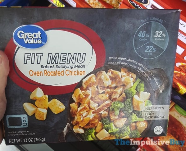 Great Value Fit Menu Oven Roasted Chicken