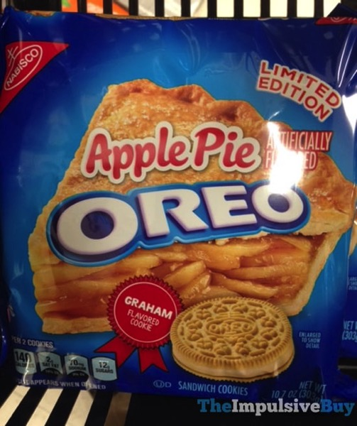 Limited Edition Apple Pie Oreo Cookies