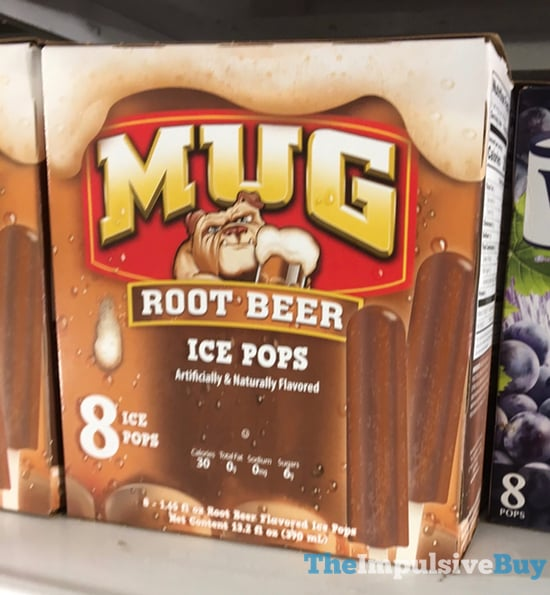 Mug Root Beer Ice Pops