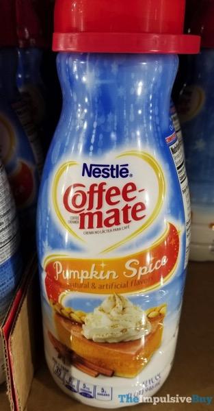 Nestle Coffee mate Pumpkin Spice  2017