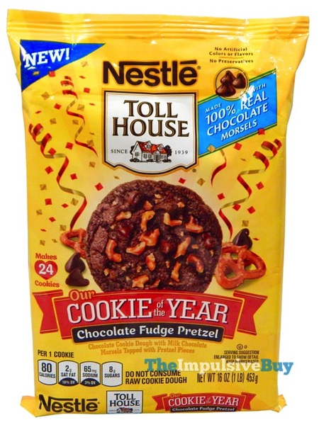 Nestle Toll House Cookie of the Year Chocolate Fudge Pretzel