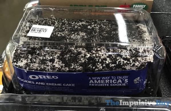 Oreo Cookies and Creme Cake