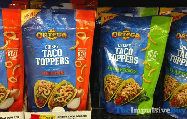 Ortega Crispy Taco Toppers  Onions and Jalapenos