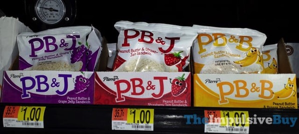 Pierre PB J and PB B