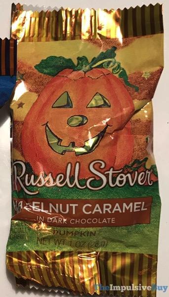 Russell Stover Hazelnut Caramel Pumpkin