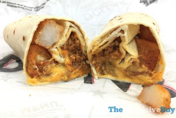 Taco Bell Beefy Potato rito