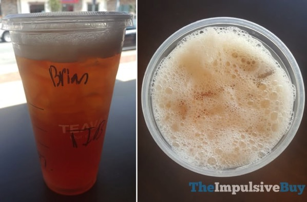 Teavana Pineapple Black Shaken Iced Tea Infusions