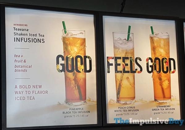 Teavana Shaken Iced Tea Infusions