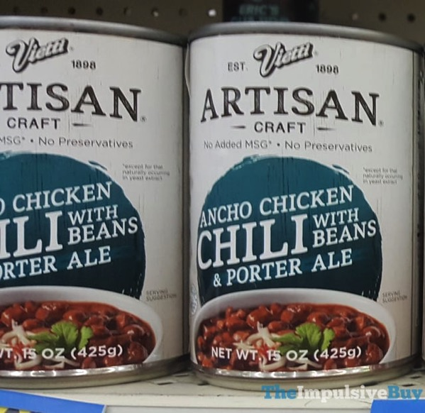 Vietti Artisan Craft Ancho Chicken Chili
